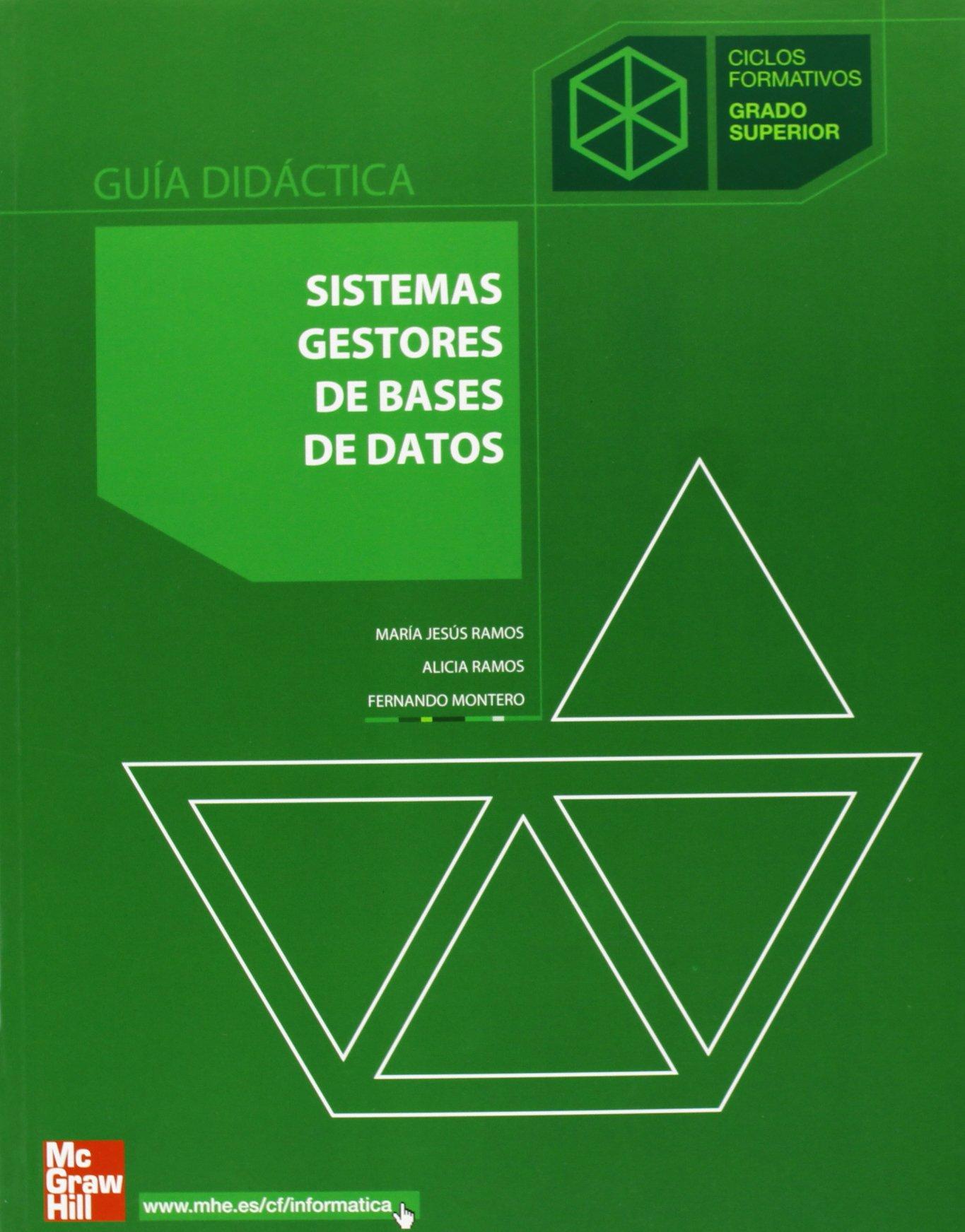 Gd Sistemas Gestores De Bases De Datos Guía Didáctica Grado Superior Amazon Es Ramos Martín Libros