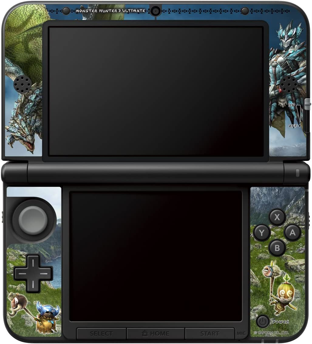 Hori MONSTER HUNTER 3 ULTIMATE Skin and Filter Set, 3DS XL ...