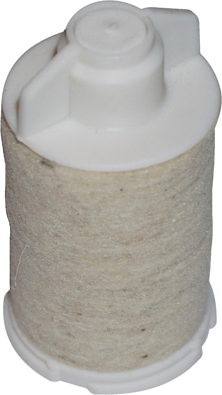 Cartouche filtrante pour filtres /à huile taux de filtration de 75 /µm FEUTRE