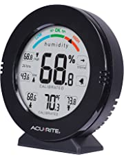 AcuRite 01080M Pro Accuracy Temperature and Humidity Monitor with Alarms