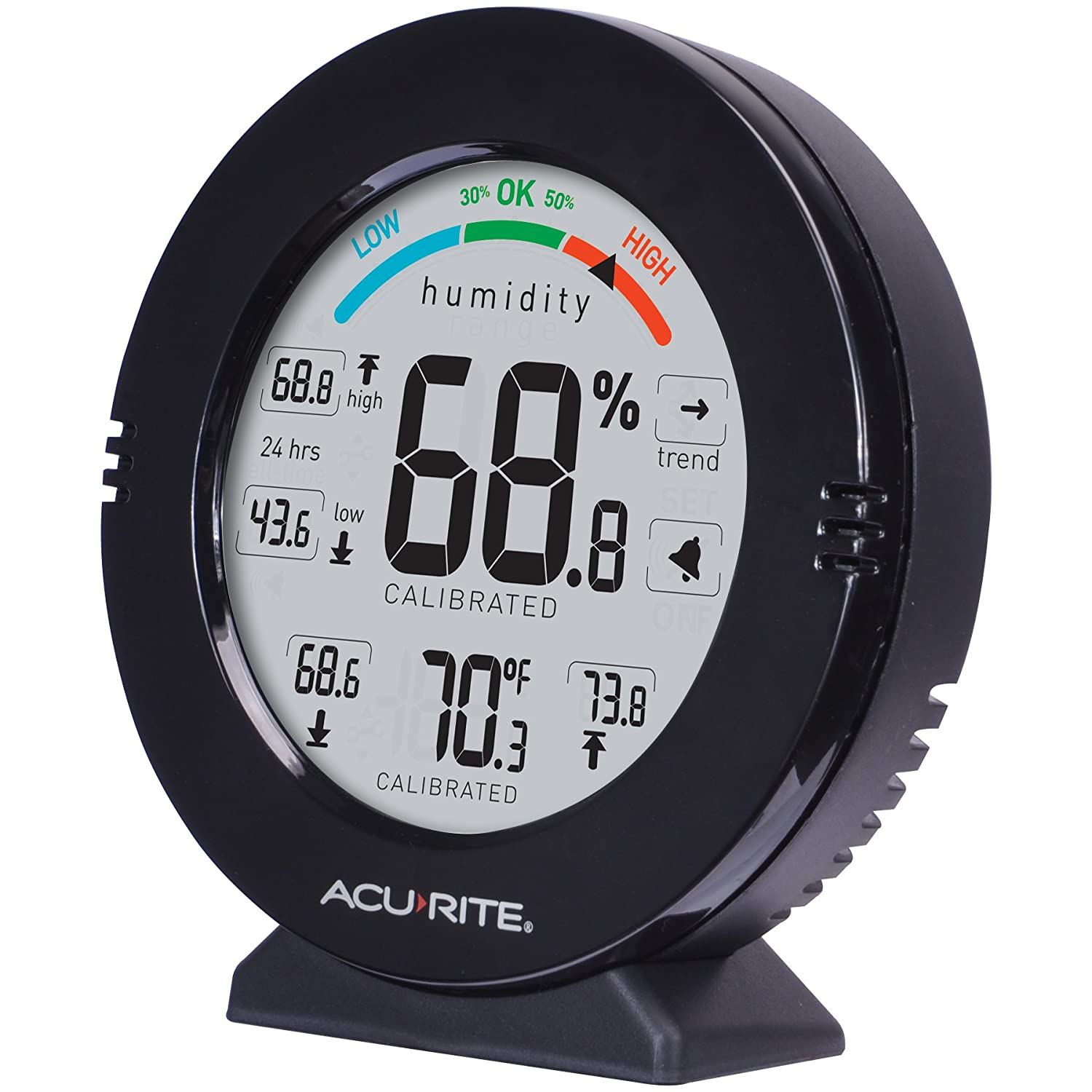 AcuRite 01080 Pro Accuracy Indoor Temperature and Humidity Monitor with Alarms Chaney Instruments 01080M