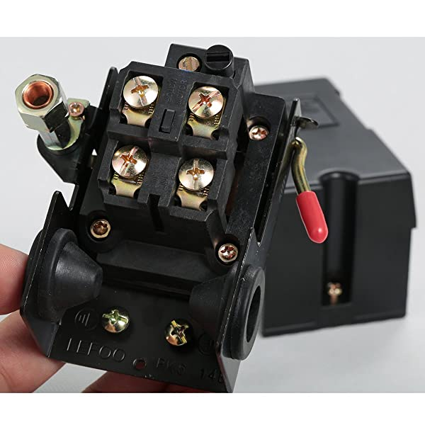 Secbolt SE0XX311001 is one of the best air compressor pressure switch