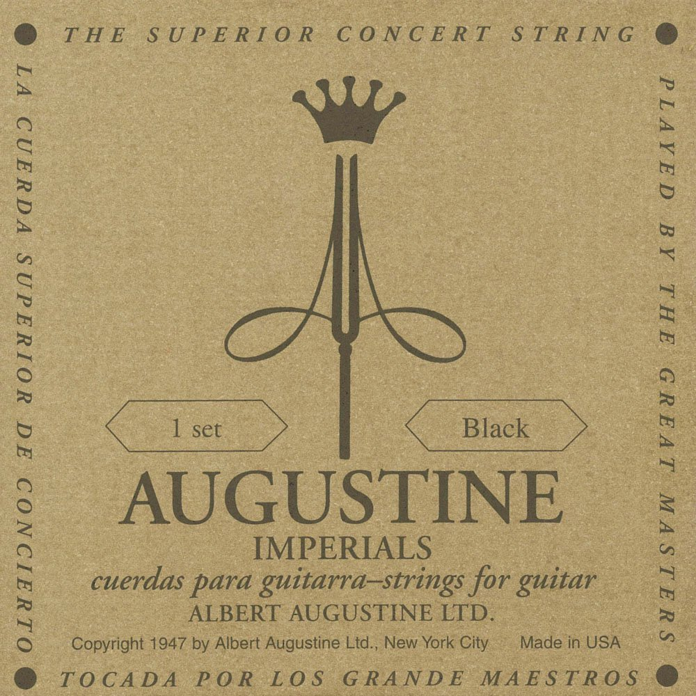 Albert Augustine 528A Imperial Black Label Classical Guitar Strings