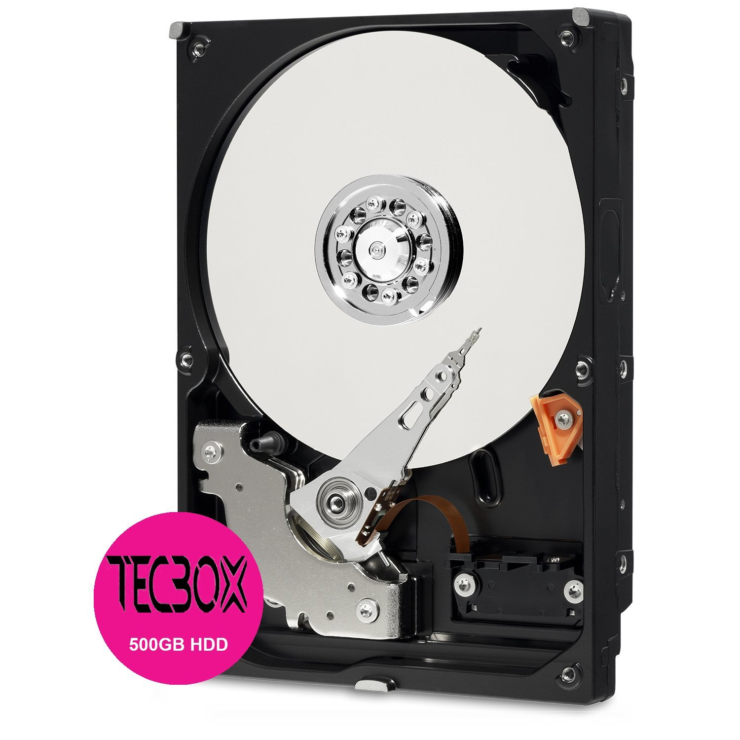 TECBOX 500GB SATA 6 Gb/s 7200 RPM 64MB Cache 3.5 Inch Desktop Internal Hard Drive by TECBOX