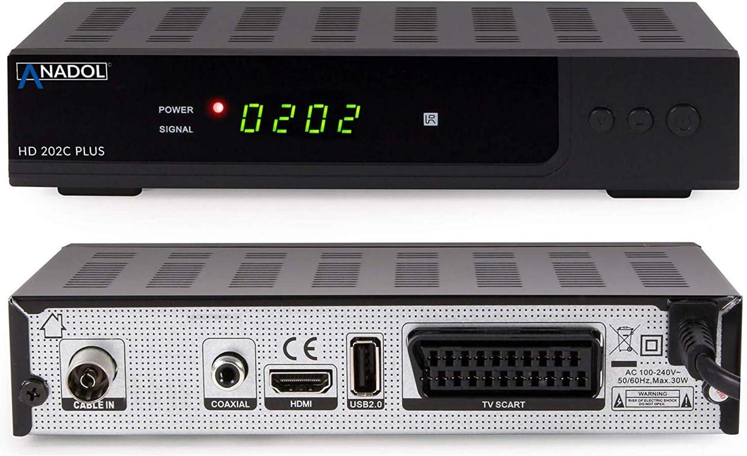 Anadol Hd 202c Plus Digitaler Full Hd 1080p Elektronik