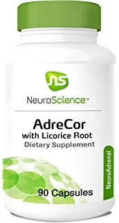 NeuroScience - AdreCor With Licorice Root, 90 Capsules