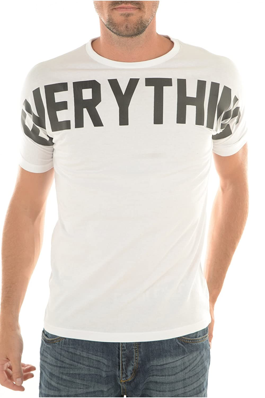 Biaggio Jeans Men's T-Shirt white white