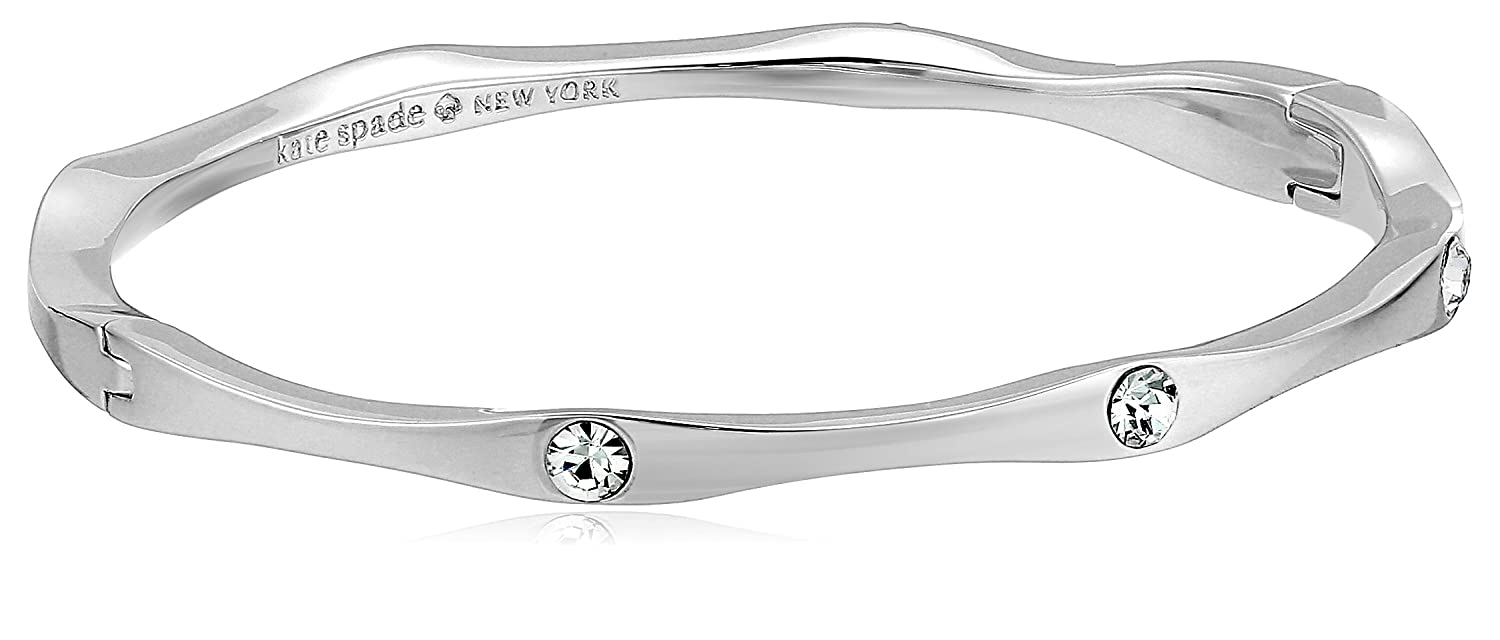 Kate Spade New York Heavy Metals Wave Bangle Bracelet kate spade jewelry WBRUF314921