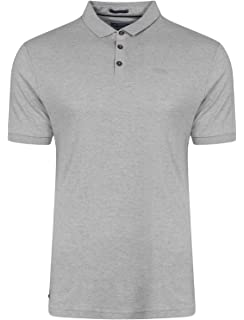 07a45b16e5b561 Mens Polo T Shirt Kensington Eastside Short Sleeved Top Collared Casual  Summer