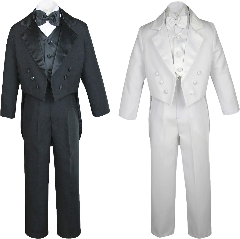 Purple Bow Tie 16-20 New Teen Boy Black FORMAL Wedding Prom Party Tuxedo Suit
