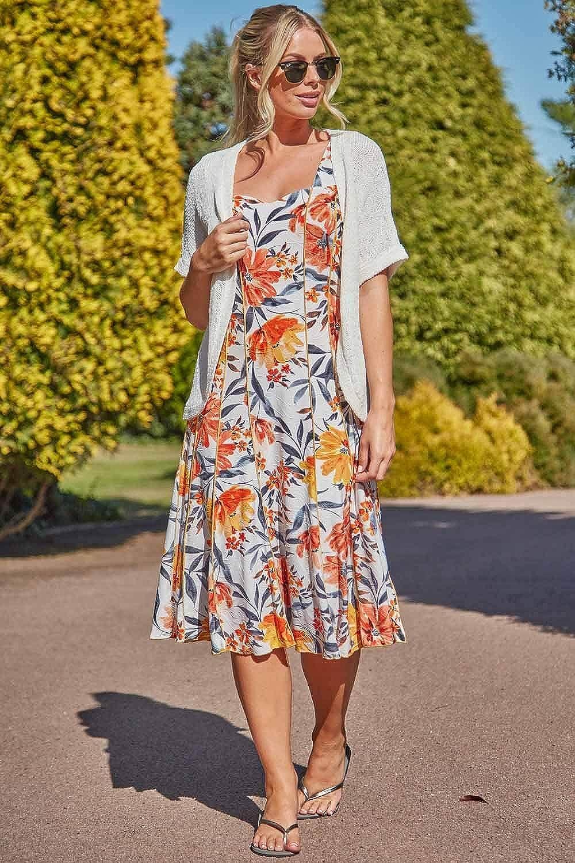 Ladies Short Sleeve Knitted Formal Evening Party Special Occasions Weddings Cape Knitwear Cardigan Fashion Clothing Roman Originals Womens Tape Yarn Shrug Bolero