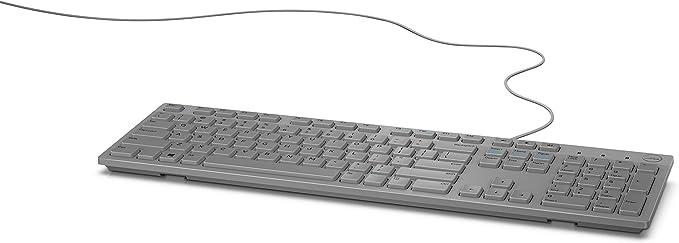 Dell KB216 Teclado Multimedia - Gris