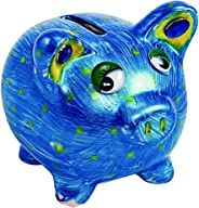 Colorations Decorate Your Own Piggy Bank, Ceramic, Set of 12, Coated Ceramic, DIY, Arts & Crafts, Gifts, Budgeting, Savings,