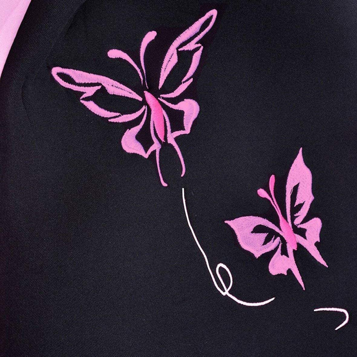 Heaviesk Estilo de Moda de Mariposa Delantero Trasero Fundas de Asiento de Coche universales Coches de veh/ículo de autom/óviles Rosa Lindo Fundas de Asiento