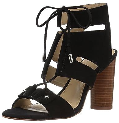 6da664d9bb9c Amazon.com  The Fix Women s Page Block Heel Ghillie Dress Sandal  Shoes