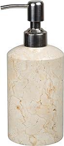 Creative Home Champagne Marble Liquid Soap Dispenser
