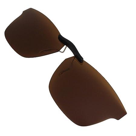 11b571c94d Ray-Ban RB5279 (53 mm) 53-18-145 Custom Polarized Clip On Sunglasses 53x18  (Bronze Brown)