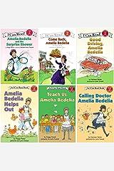 I Can Read Amelia Bedelia 6 Pack Set, Level 2 (Amelia Bedelia Helps Out, Good Driving Amelia Bedelia, Calling Doctor Amelia Bedelia, Come Back Amelia Bedelia, Amelia Bedelia and the Surprise Shower, Teach Us Amelia Bedelia) Paperback