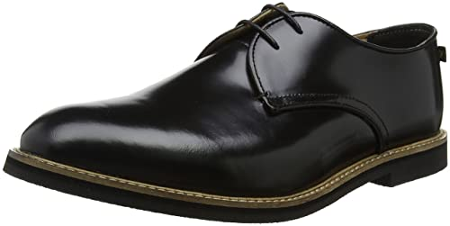 the best attitude 9e99c bb742 Farah Vintage Saint, Scarpe Stringate Derby Uomo, Nero ...