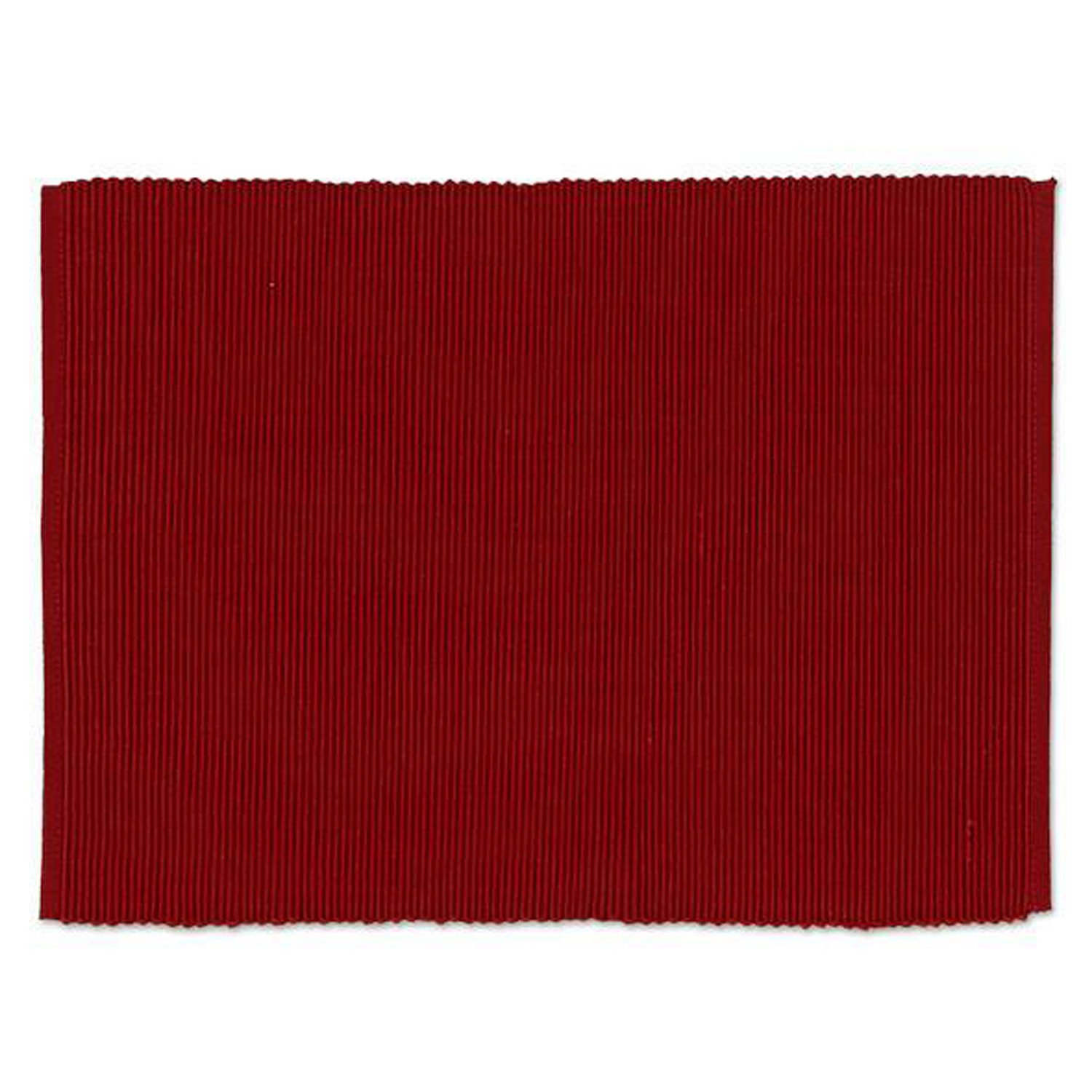 Design Imports A Walk in the Woods Table Linens, 13-Inch by 19-Inch Placemats, Set of 4, Garnet