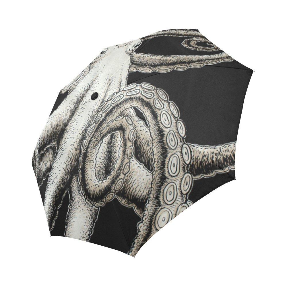 0b5a4c3ede durable modeling Happy More Custom Octopus Waterproof Auto Foldable Umbrella