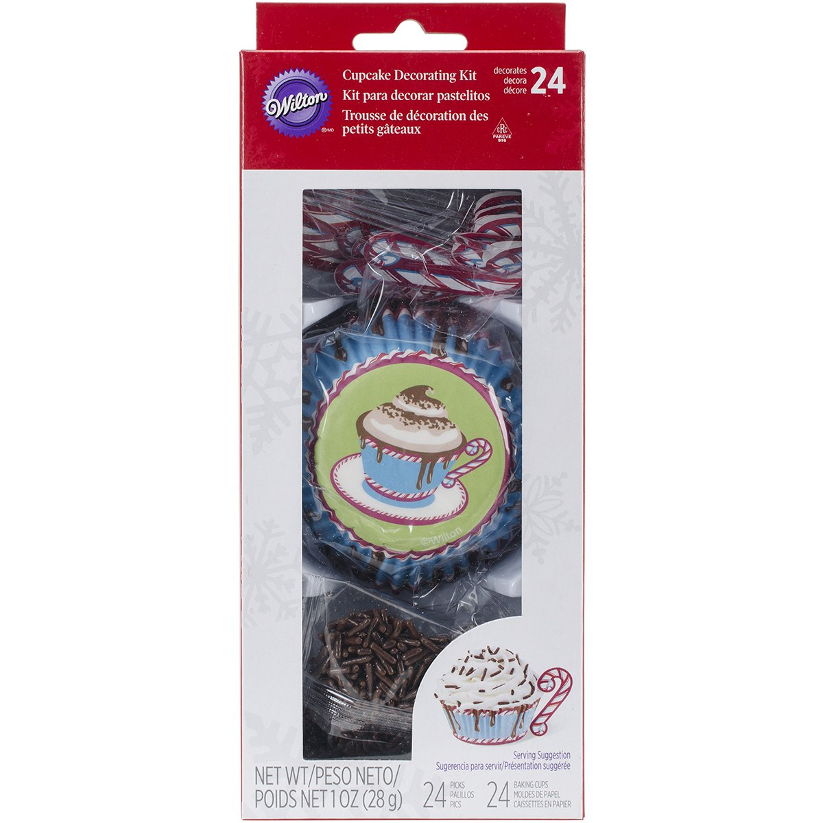 Wilton Hot Cocoa Cupcake Decorating Kit by Wilton