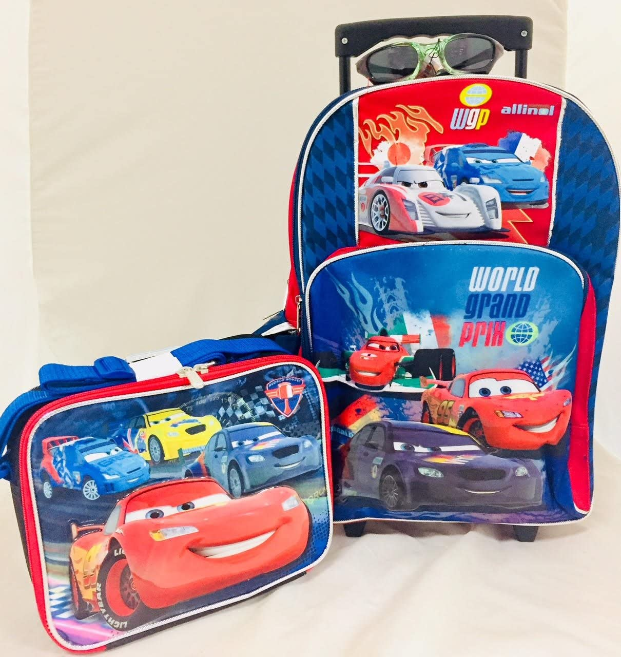 """Angry Birds Large School 16/"""" Backpack /& Insulated Lunch Bag set 2 pcs"""