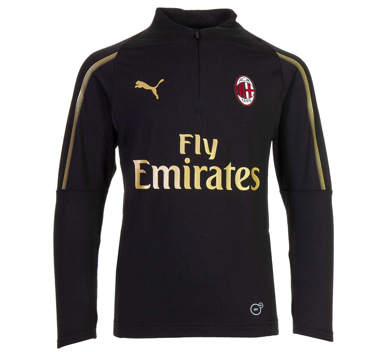 Puma AC Milan 1 4 Zip Top Junior