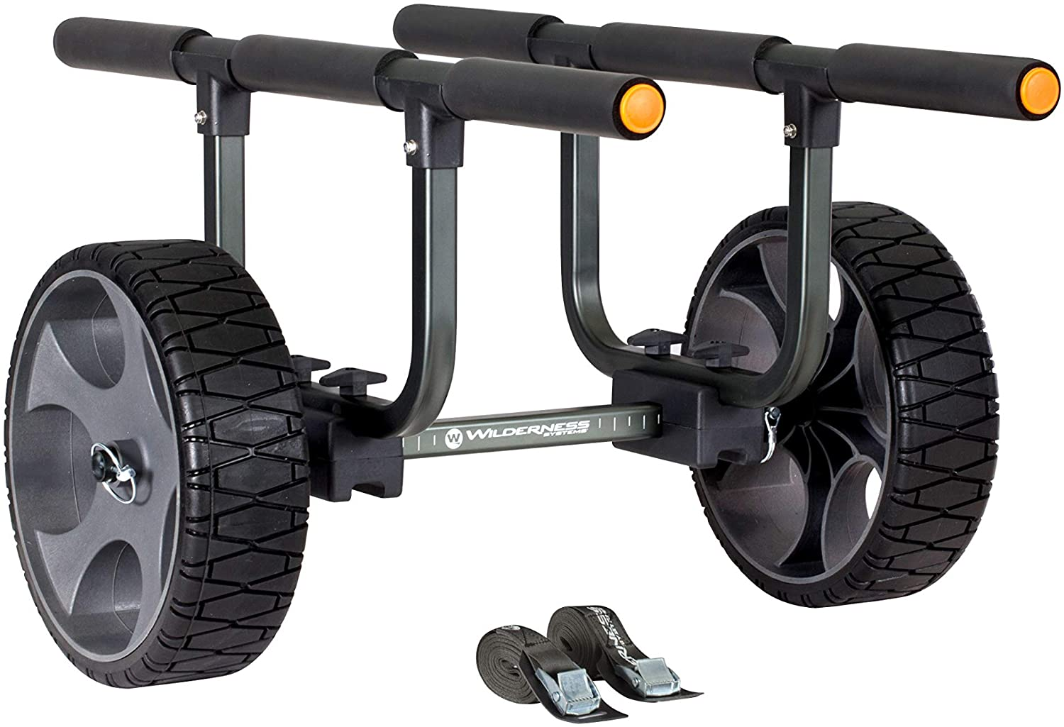 Wilderness Systems Heavy Duty Kayak Cart with Beach Tires   8070167 NEW