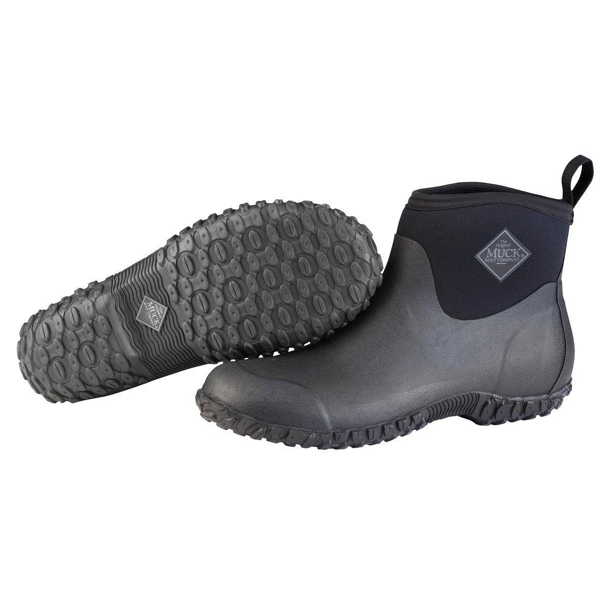 Muckster ll Ankle-Height Men's Rubber Garden Boots (Renewed)