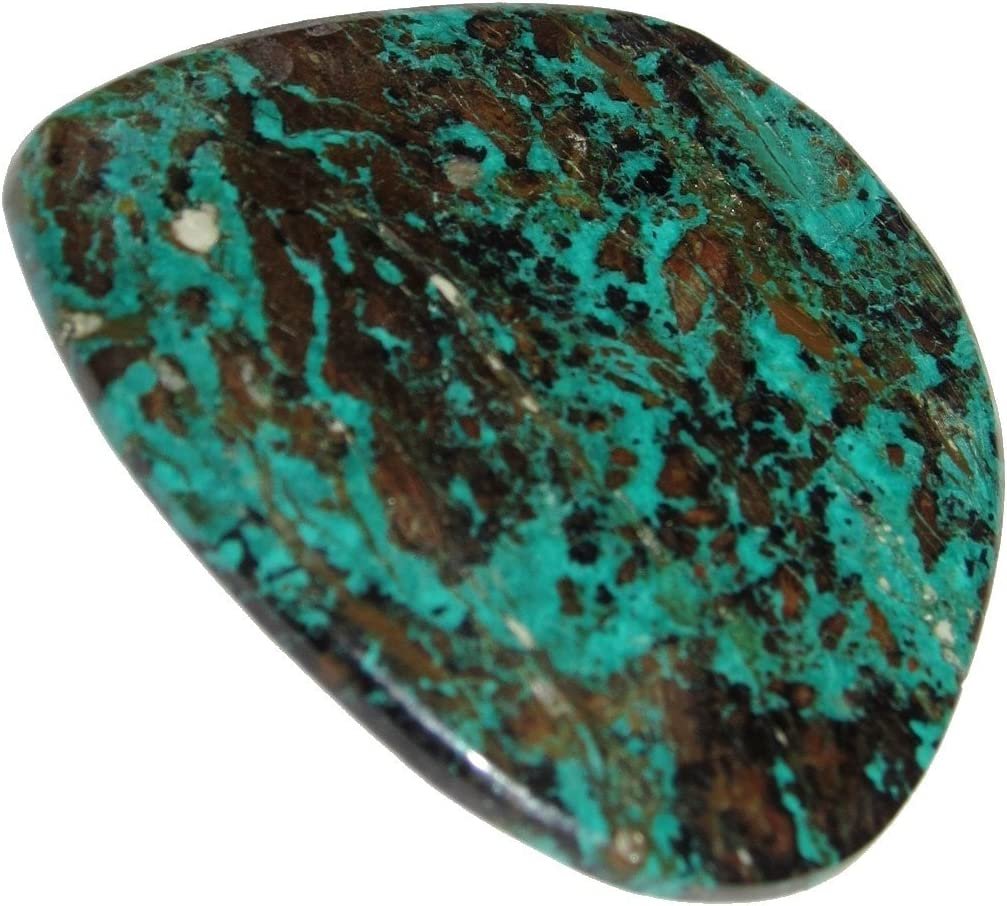 65.5 Ct Supreme Top Grade Quality 100/% Natural Chrysocolla Radiant Shape Cabochon Loose Gemstone For Making Jewelry 50X20X6 mm R4396