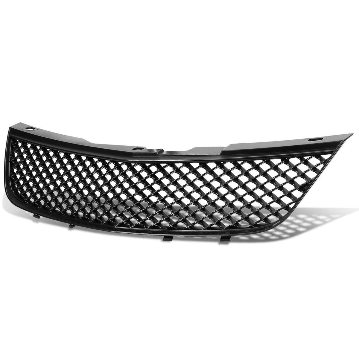 8th Gen W-body Hi-Mid Black For 00-05 Chevy Impala ABS Plastic Mesh Style Front Upper Grille