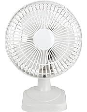 Status Portable 6-Inch Desk Fan, White