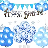 Birthday decoration set balloon balloons gold HAPPY BIRTHDAY birthday party man girl