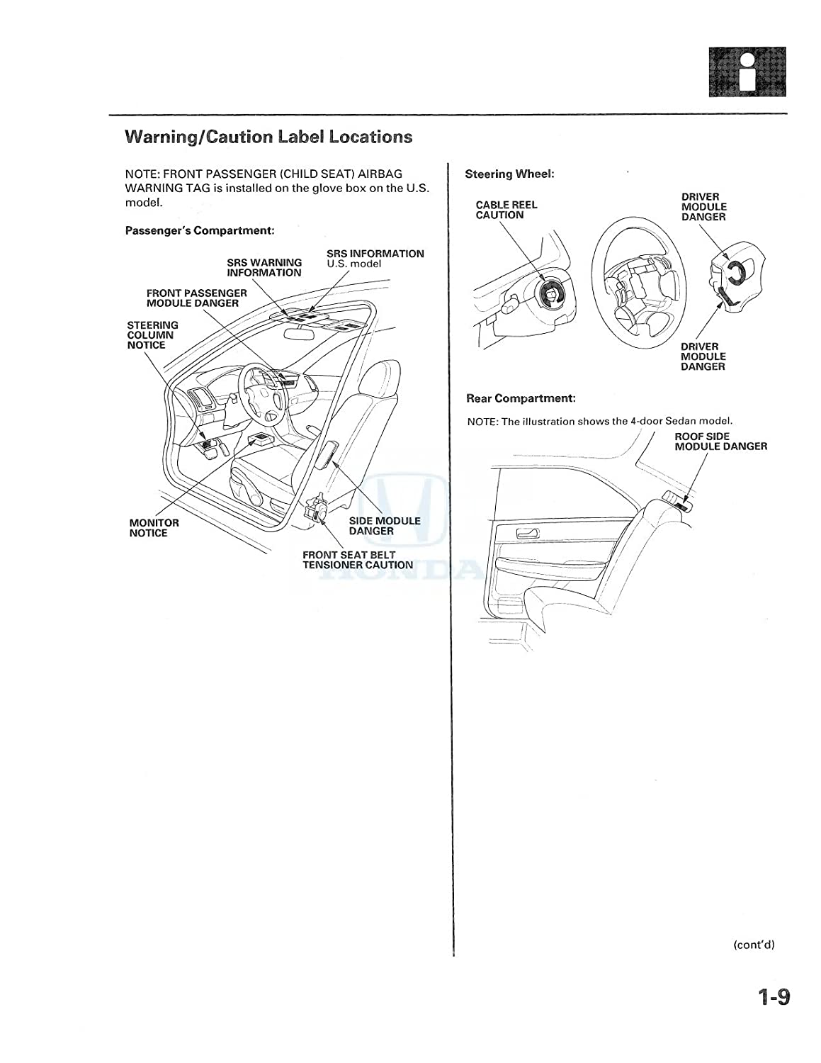 Fire Engine Drivetrain Diagram 2003 2004 2005 Honda Accord Shop Service Repair Manual Book Automotive