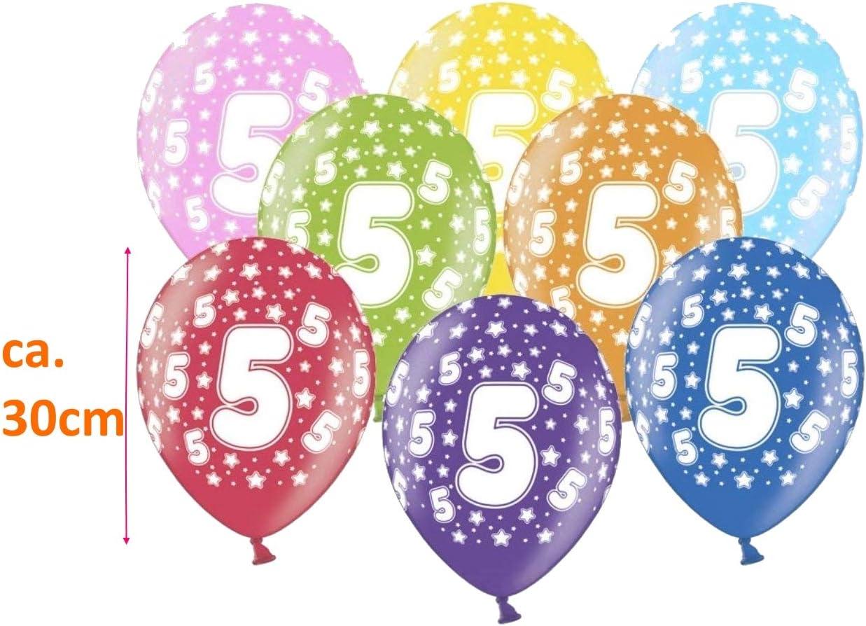 8 Stk Geburtstag Luftballon 40 Jahre 30 cm Party Deko