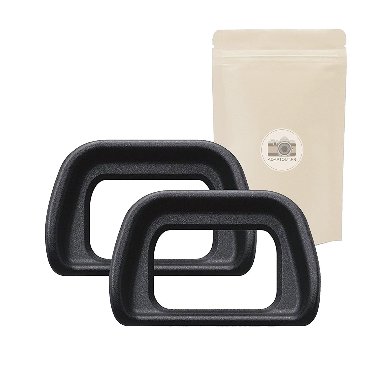 Lot DE 2 Oeilleton pour Viseur Sony Type EP10 EP-10 Compatible Sony Alpha 6000 /α6000 NEX-6 et NEX-7 Plastique ABS ADAPTOUT Marque FRAN/ÇAISE 2X EP10 Lot DE 2