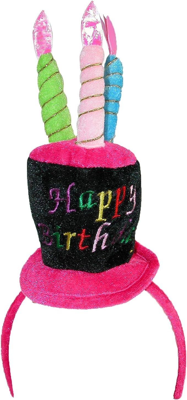 Amazon.com: CTM Mujer Luz Intermitente Feliz cumpleaños ...