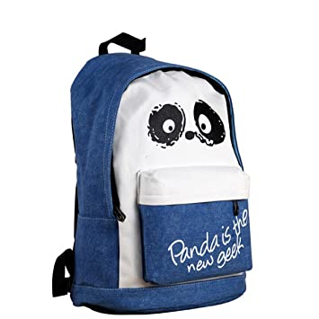 Large Sac d a Dos Contenance Sac Panda the is Geek Flammee New 18Hqwpf8d