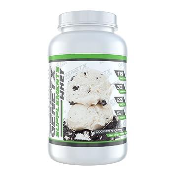 Amazon.com: genetx # 1 concentrado de proteína de suero en ...