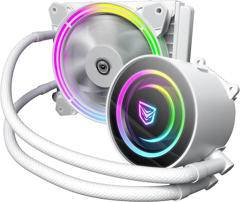 Nfortec Atria Flüssigkühlung Rgb 120 Mm Mit Computer Zubehör