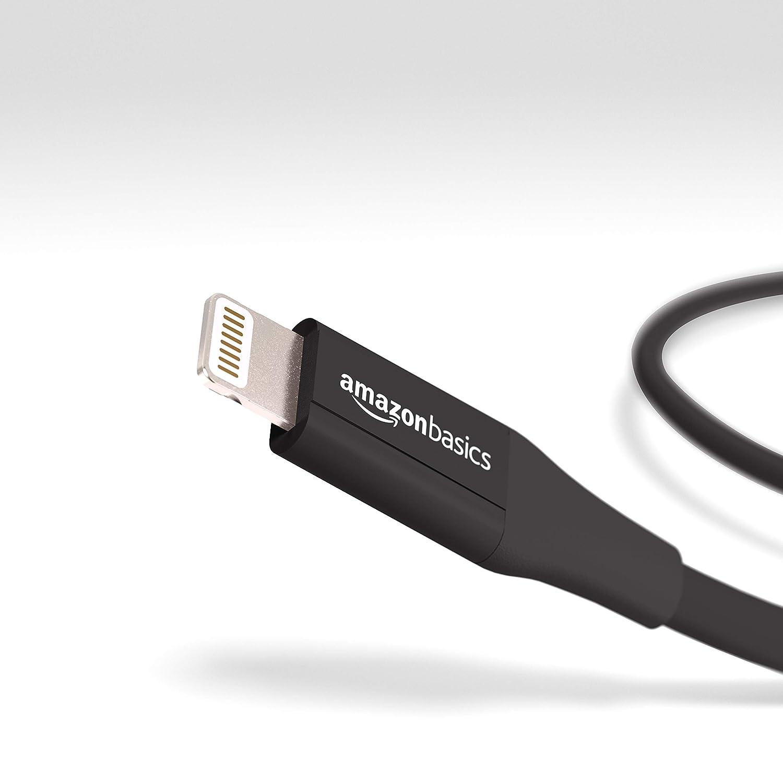 Basics C/âble Lightning vers USB A pour iPhone et iPad Blanc Lot de 12 0,9 m