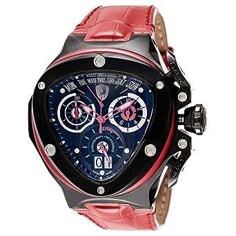 3c3bb2d85 Tonino Lamborghini Spyder 3000 Watch for Men - Analog Leather Band - TL 3018