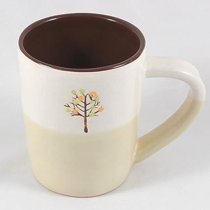 Oz Starbucks Mug14 Painted Coffee 2009Hand Tree trshQd