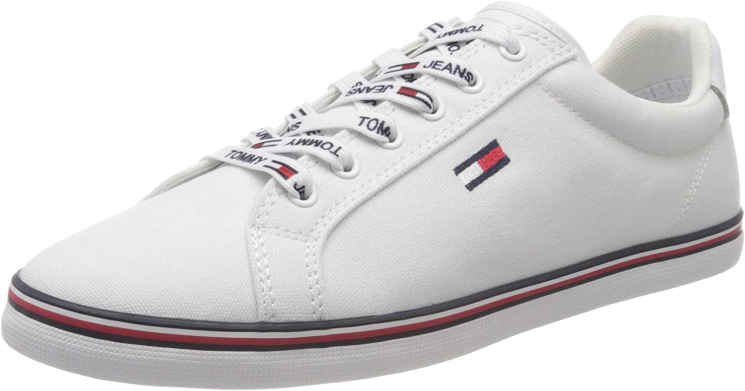 Tommy Hilfiger Essential Lace Up Sneaker, Zapatillas para Mujer