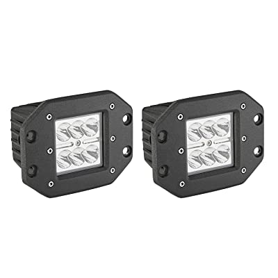 LED Light Bar, Northpole Light 2x 24W Waterproof Cree Spot LED Light Bar Work Lights LED Pods Cube Lights Driving Fog Lights with Mounting Bracket for Off Road, Jeep, Truck, Car, ATV, SUV: Automotive