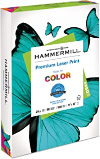 product image for Metropolitan Office Products Laser Print Office Paper, 98 Brightness, 24lb, 11 x 17, White, 500 Sheets/Ream