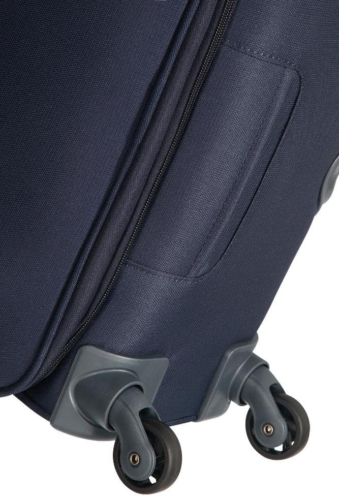 67,5//73,5 L Spinner M Valise Extensible 66 cm Samsonite Base Boost Bleu Navy Blue