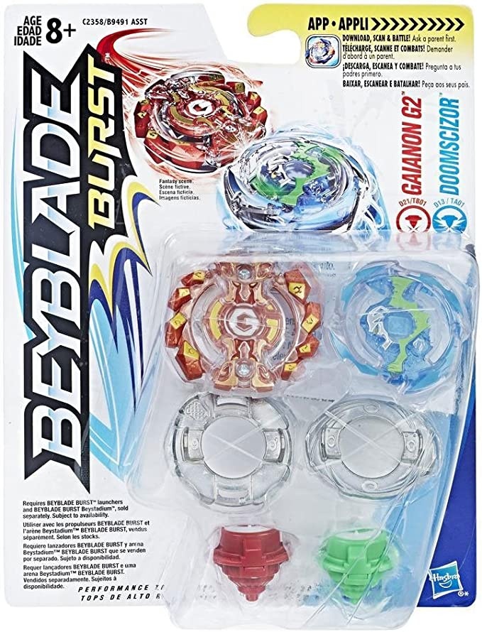 Beyblade Bey Blade C2358EL2 Burst Evolution Gainon G2 and ...