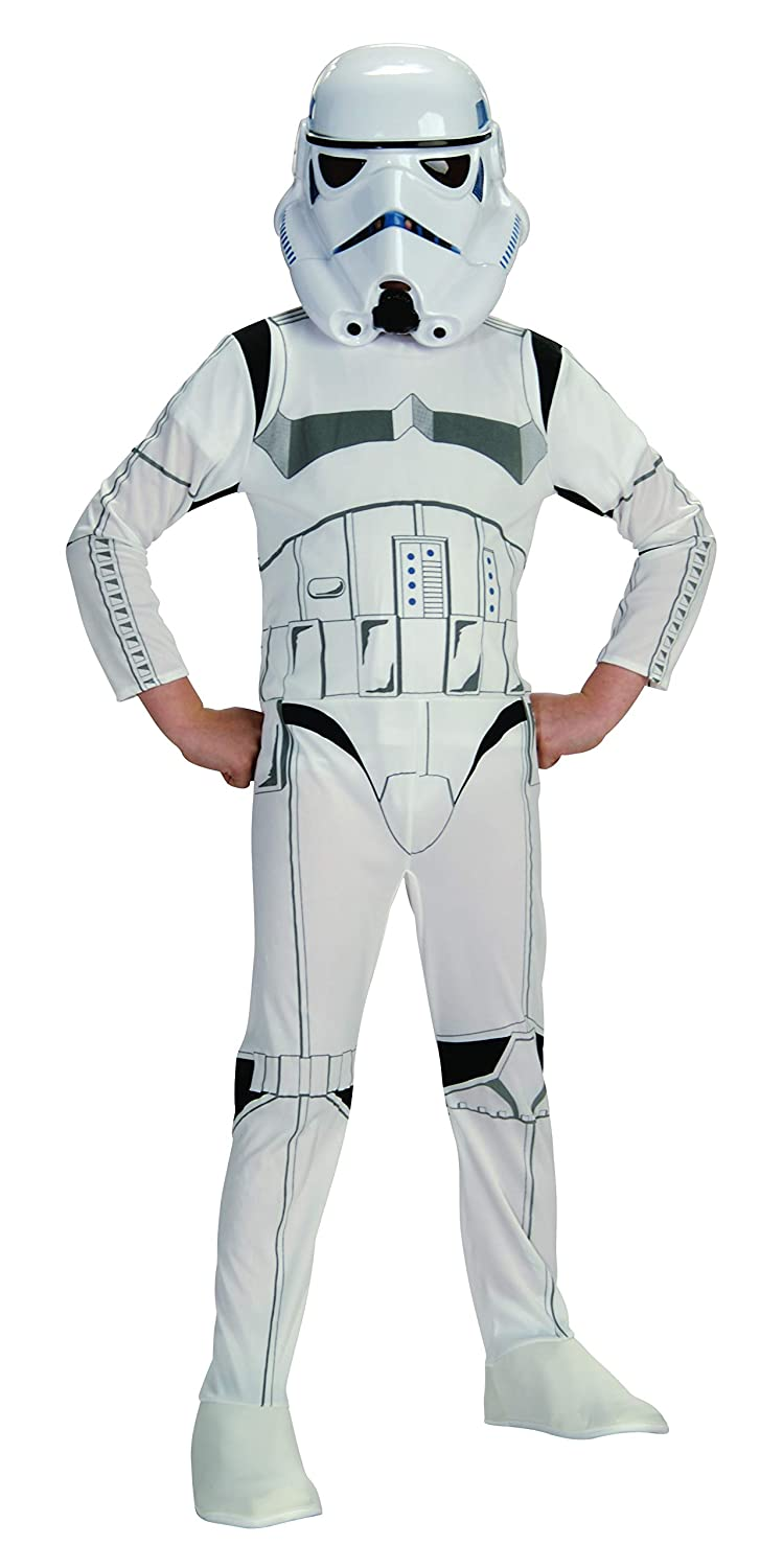 Star Wars VII: The Force Awakens Deluxe Childs Stormtrooper Costume and Mask, Small